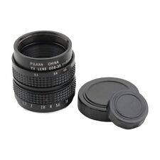 Television TV Lens/CCTV Lens for C Mount Camera 35mm F1.7 in Black G7F7