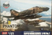 Zoukie Mura F-4D Phantom II Super Wing Series No. 7 Model Kit in 1:48 Scale