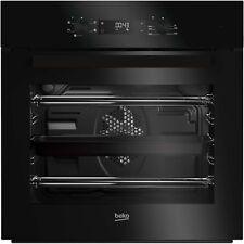 Beko BIF22300B Big Capacity 5 Function Electric Built-in Fan Single Oven Black