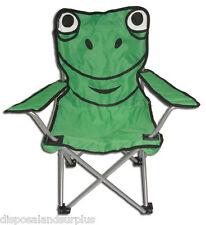 Kids Folding Chair Frog Novelty Chair Outdoor Camping Childrens Seat