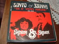 """SANTO & JOHNNY """" SE E' VERO AMORE """" Dal film SIGNORE & SIGNORI  O.S.T.  ITALY'67"""
