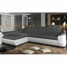 Corner Sofa Bed INFINITY S Bargain with Storage Container Springs New