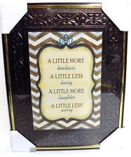 KINDNESS & LAUGHTER  Inspirational  Wall Picture,Wall Plaque( NEW)