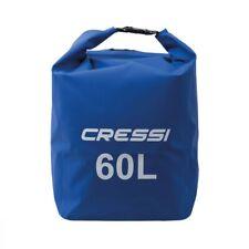 Dry Bag 60 Liter CRESSI SUB Tasche Wasserdicht A Rucksack Blau Tasche
