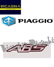 622399 - ORIGINALE PIAGGIO TARGHETTA BAULETTO ABS ADESIVA VESPA GTS 250