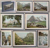 Album vom Berner Oberland mit 25 farbigen Ansichten (um 1890) Schweiz Grafik xy