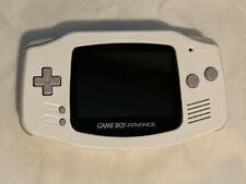 Nintendo Game Boy Advance White System Backlit IPS V2 LCD Custom Painted MOD 140