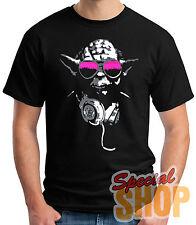 CAMISETA DJ JODA-STAR WARS-FUNNY-DISCO T-SHIRT CHICO/A/TIRANTES/NIÑO