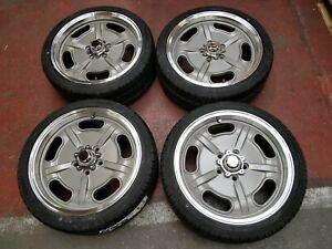 """17"""" JBW SMA Silver/Machined face Wheels&tyres VW Bay window *ex-display*"""