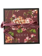 100% Authentic Gucci Gift Box With Ribbon (25 cm X 25 cm X 8 cm)