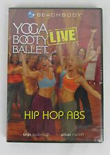 NEW Yoga Booty Ballet Live Hip Hop Abs Beachbody DVD Region 1 Sealed
