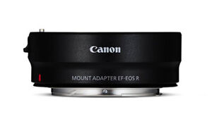 Canon EF EOS R Adapter Neuware zur Verwendung von EF Objektiven auf EOS R Kamera