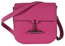 NEW Tom Ford Women's $1,590 Hot Pink Leather Tara T Clasp Crossbody Purse Bag