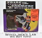 Tantrum NEAR MINT FIGURE MIB 100% Complete 1986 Vintage Hasbro G1 Transformers