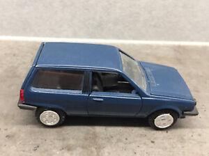 Modellauto 1:43, VW Polo C, Blau, Von Conrad