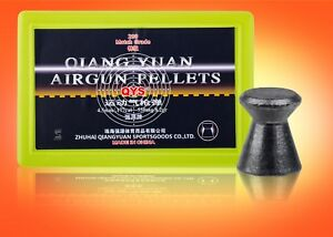"""Qiang Yuan Sports Goods (""""QYS"""") """"Match Grade"""" Airgun pellets.177 (Headsize 4.49)"""