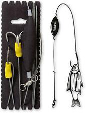 Black Cat Unterwasser Posen Rig XL 100kg 180cm Welsvorfach mit UPose Wels Rig