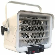 Compact Garage Heater Electric Infrared Forced Air Heat Source Greenhouse Shop