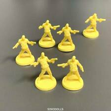 10pcs yellow D&D set Figure Dungeons & Dragon Role-Playing Miniatures toy