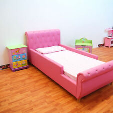 Pink Leather Beds & Mattresses