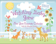 Watching Baby Grow 13-month Keepsake Calendar with Milestone Stickers