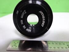 Microscope Part Unitron Eyepiece Zoom 10x 20x Optics F5 B 08