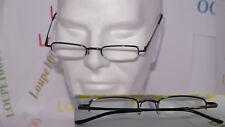 lunettes loupes de lecture demi-lune en métal  réf L7002 COL1 N° TOP 07