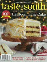 Taste of the South     100th Issue Heirloom Lane Cake   December 2020