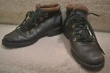 Womens TIMBERLAND Black Leather Casual Hiker Boots Size 6.5 M