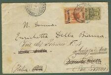 ERITREA. Lettera da Asmara per Ardenza (Livorno) del 21.4.1925 affrancata con...