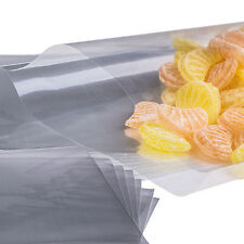 "x100 (4 "" X 6 "")  Cellophane Cello Poly Display Bags Lollipops Cake Pop"