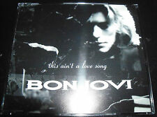 Bon Jovi This Ain't A Love Song Rare UK Promo CD Single - JOVDJ17