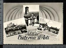 [18043] ASTI - CISTERNA D'ASTI - SALUTI E VEDUTE _ VIAG