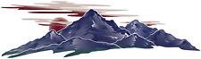1 RV TRAILER CAMPER  MOUNTAIN SCENE GRAPHIC DECAL-732