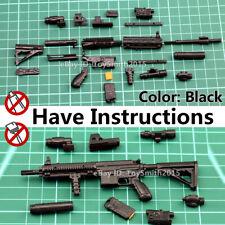 "1/6 1:6 Scale 12"" Action Figure Gun Model Asault Rifle HK416 Dragon Seal BBI"
