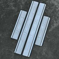 4Pcs Stainless Steel High Quality Door Sill Scuff Plate For Mitsubishi Outlander
