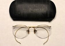 Vintage Bausch & Lomb (B&L 1/10 12K Gf) Arco Rx Eyeglasses Original Case!
