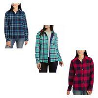 Shirt Jacket for Women Flannel Fleece Lined Long Sleeve - Orvis