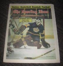 1975 Rogatien Vachon Los Angeles Kings - The Sporting News Magazine - No Label