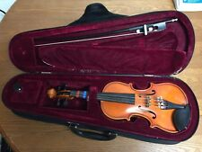 1/8 Violin EMMC 50 Used Made in Romania with Case