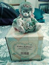 Calico Kittens: Blossoms of Friendship - 623555 - Kitten and Lamb with Flowers#5