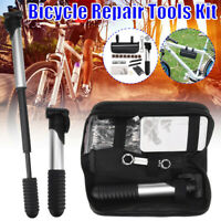 Dunlop Bicycle Air Pump Mini Telescope Valve Tyre Ball Bicycle with 3 Adapter