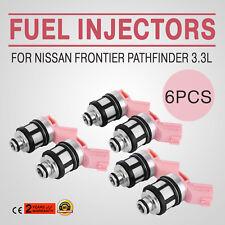 Hot Set of 6 Fuel Injector For Nissan Frontier Pathfinder Quest Infiniti Good