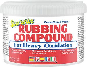 Star brite Paste Rubbing Compound heavy Polierpaste für starke Oxidation 82616