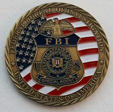 More details for us fbi, federal bureau of investigation challenge coin.