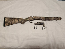 Ruger American Short Action Go Wild Camo Stock, New Take-off, Includes Hardware