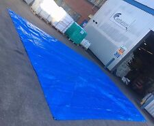 Tarpaulin 5.5x7.3m(18'x24') rain car skip shed boat Cover Tent Ground Sheet Tarp