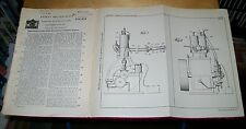 TWO STROKE STATIONARY I.C. ENGINE PATENT. RICHARDSON, PASSAIC, USA. 1930
