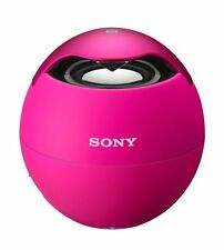 Sony SRSBTV5 Portable NFC Bluetooth Wireless Speaker System (Pink) - NEW