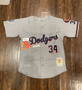 Newark Dodgers Negro League Grey Jersey Licensed #34 Size Small $100 1933-1935